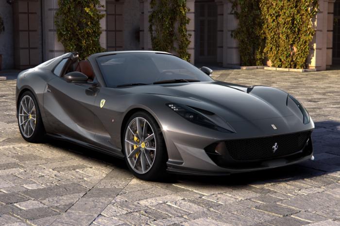"""法拉利推出上空版""""超級快""""812 GTS!"""