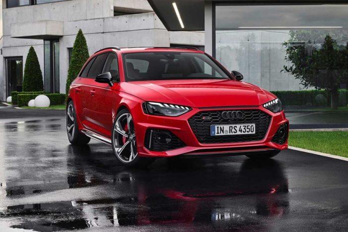 2020 Audi RS4 Avant小改款以更具殺氣的外型登場了