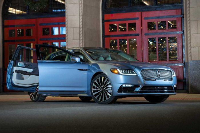 Lincoln推出帶自殺式車門的2020 Continental Coach Door Edition特別版