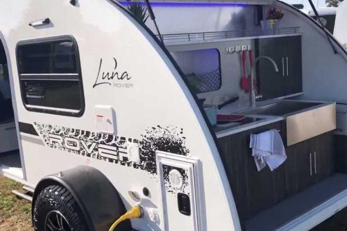 擁有壁爐暖氣與廁所的溫暖小車屋─InTech Luna Rover