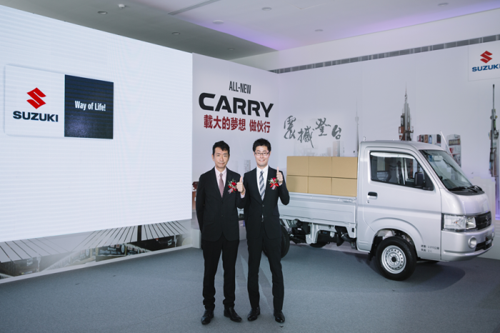 49.9萬元當頭家!Suzuki New Carry陪您打拼大事業!