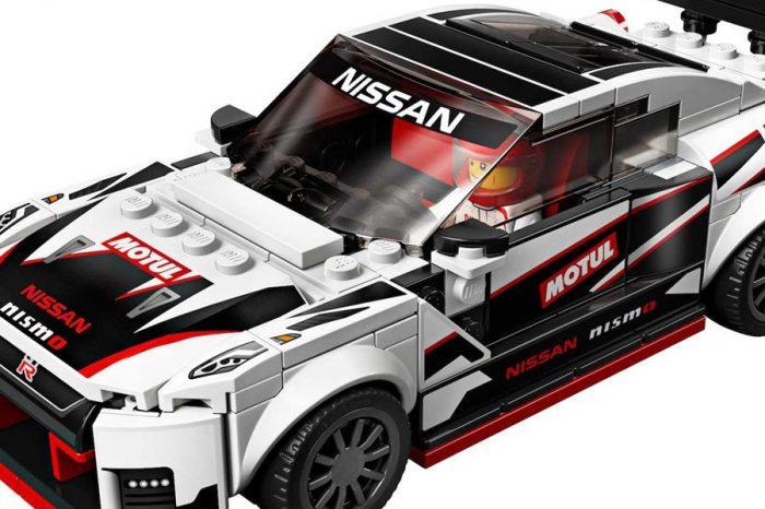 就算變成了Lego,Nissan GT-R Nismo看來還是很快呢