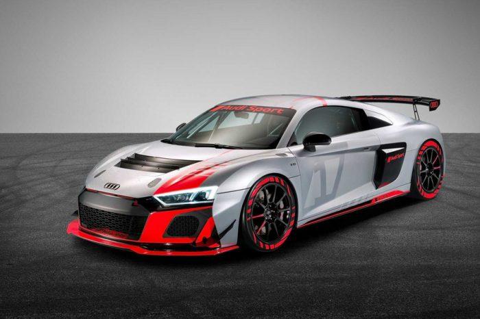 新衣上身!2020 Audi R8 LMS GT4賽車小改發表