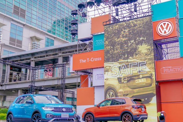 82.8萬元起!全新迷你型都會跨界車VW T-Cross上市