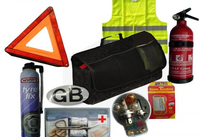 將這些物品常備車上 自助也可助人