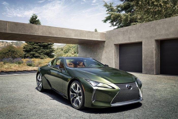 2020年式Lexus LC Limited Edition限量登場