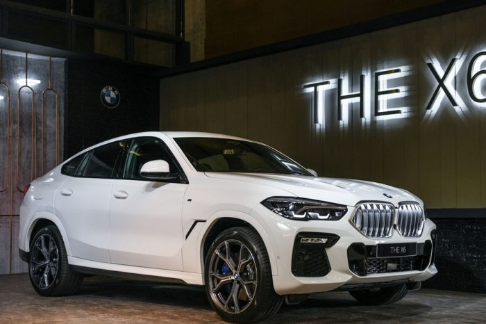 全新第三代BMW X6霸氣登場