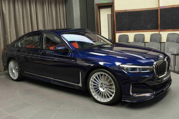 外冷內熱─配色活潑的2020 Alpina B7