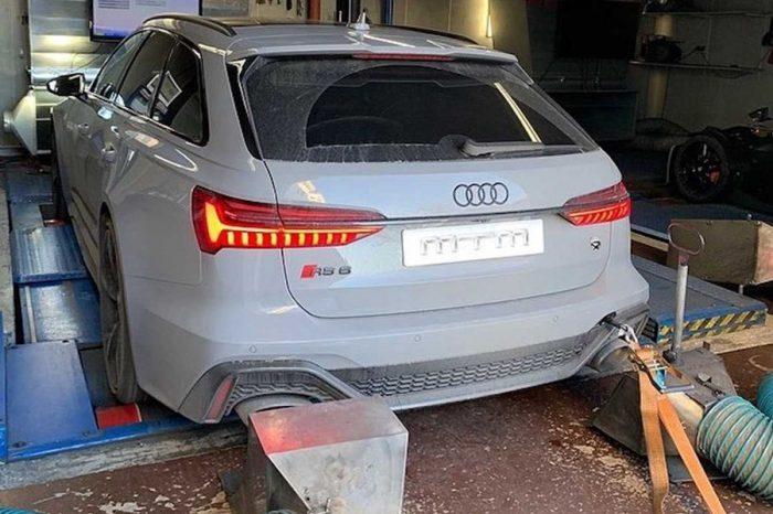 啥?2020 Audi RS6 Avant已經改裝到787HP?