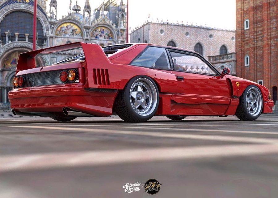 Ford野馬與Ferrari F40的孩子!Enzo肯定會氣炸