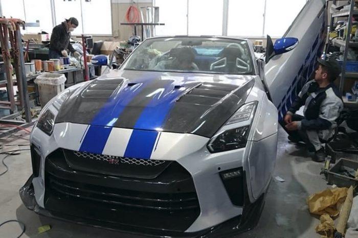 老車大升級!Nissan 350Z變身敞篷GT-R!