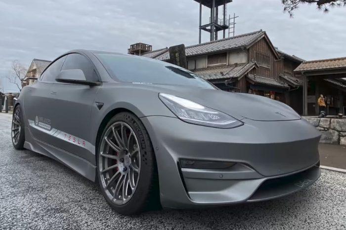 影/重度改裝Tesla Model 3快追到McLaren F1了!