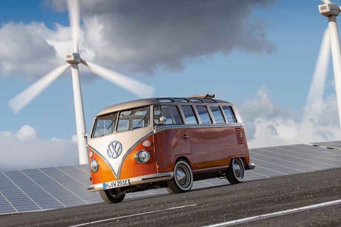 福斯商旅打造e-BULLI電動T1概念車 預覽「行的未來」