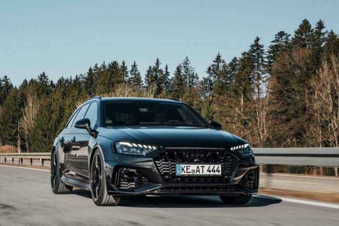 2020 Audi RS4 Avant從ABT那獲得了更大的動力與新的配件