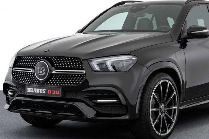 Brabus低調改造Mercedes GLE和GLS