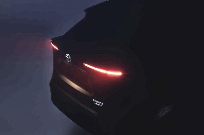 Toyota全新Yaris Crossover跨界休旅明天就要現身了?