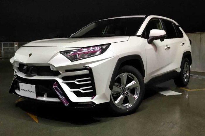 喜歡Lamborghini Urus?何不考慮買輛Toyota RAV4來改呢?