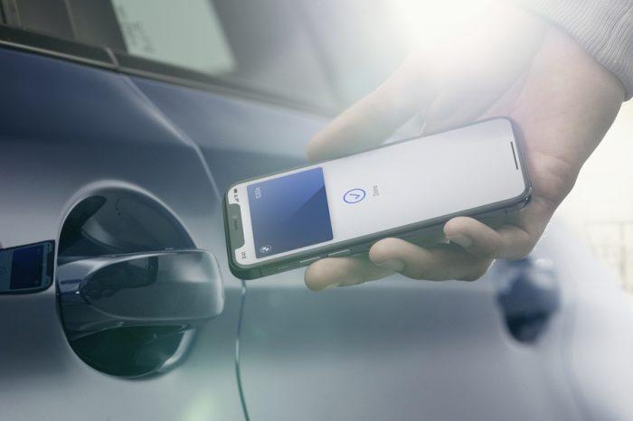 BMW將支援iPhone數位車鑰匙