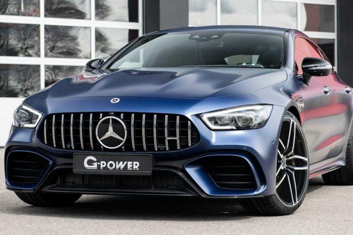 G-Power推出動力高達800HP的Mercedes-AMG GT 63