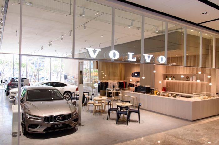 「Volvo Downtown Store」 凱銳汽車新莊城市展間開幕