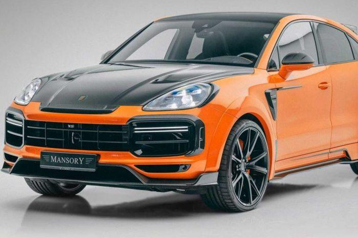Mansory再次用Porsche Cayenne展現出極緻特別的改裝手法