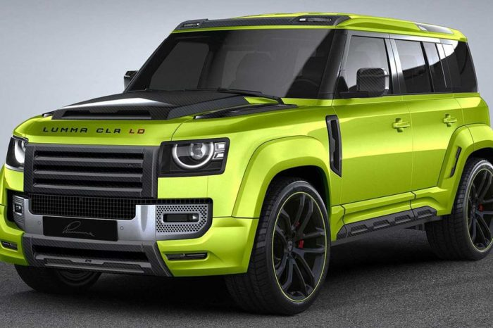 Lumma Design替Land Rover Defender量身打造花俏無比的外觀套件