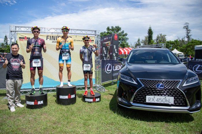 LEXUS冠名贊助 2020 IRONMAN 70.3 Taiwan國際鐵人三項賽事