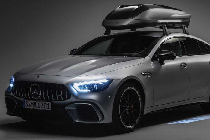 追求實用與風格!Mercedes-AMG推出了專屬的車頂行李廂!