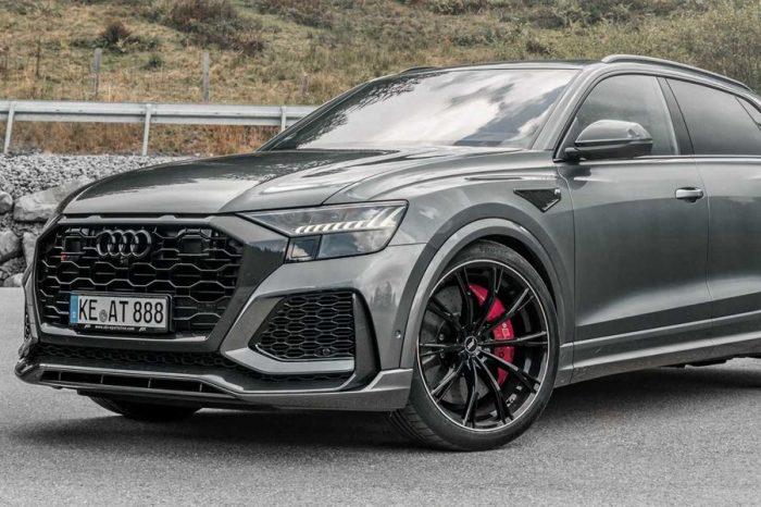 Lamborghini Urus得注意由ABT改造後的Audi RS Q8了