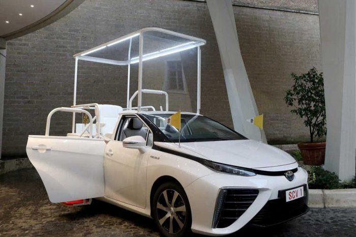 Toyota Mirai將成為教宗官方新座駕!
