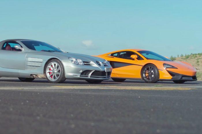 影/彈射起步真的有差?McLaren 540C單挑賓士SLR!