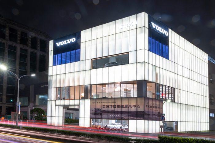 斥資五億打造頂級北歐奢華 Volvo凱銳新莊旗艦店正式開幕