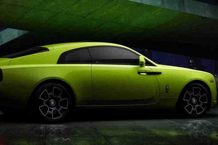 亮到不行!Rolls-Royce 推出 Black Badge 版本專屬螢光車色