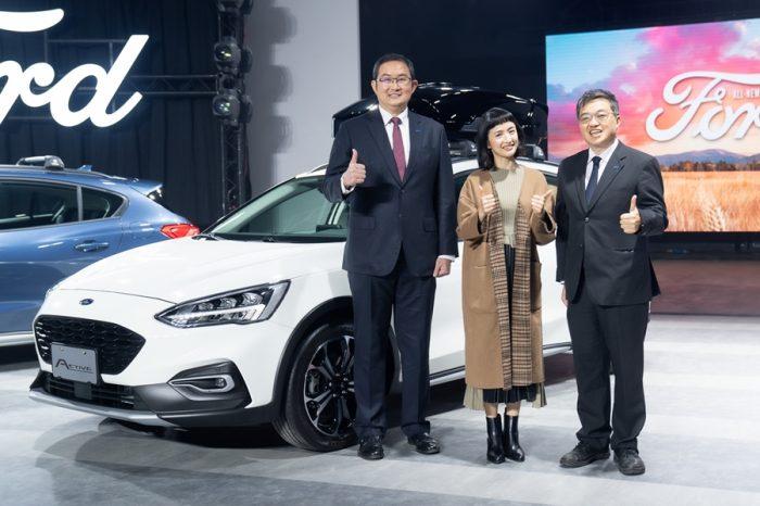零負評女神的選擇 林依晨再度替全新Ford Focus Active上市代言