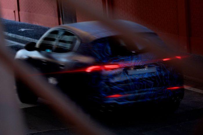 Maserati 全新 SUV Grecale 原型車街頭實拍