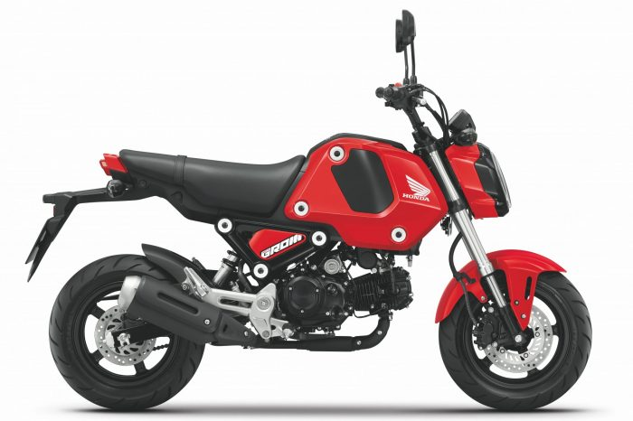 Honda二輪全車系正式售價發表  暨 MSX GROM全新進化登場