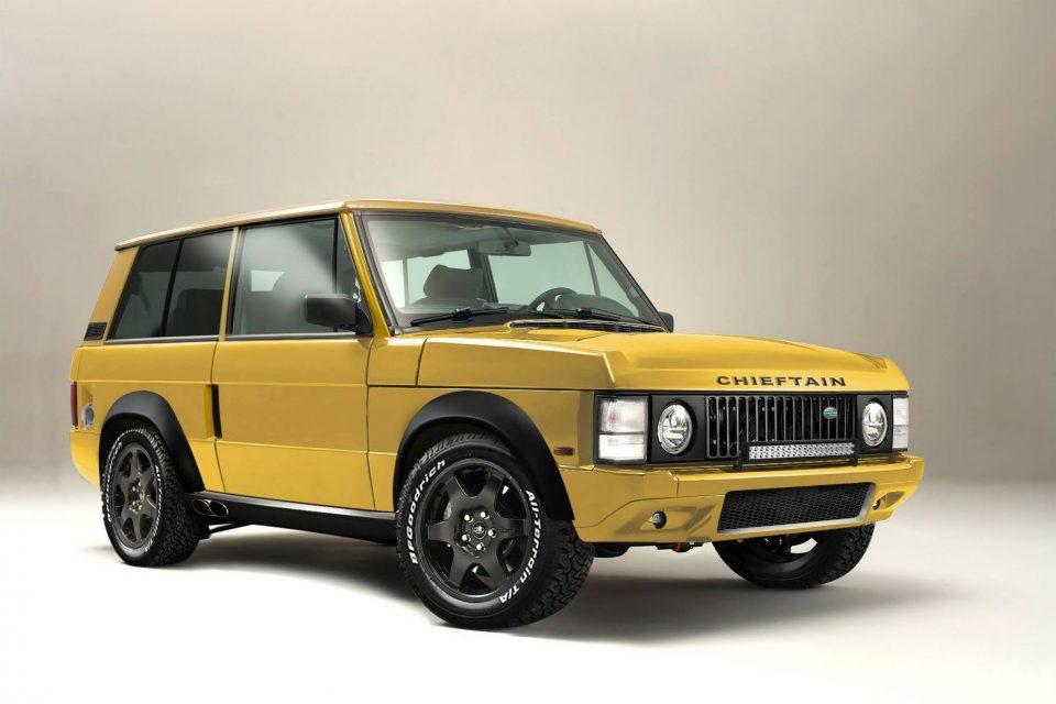 Land Rover Range Rover 展現濃烈跑格