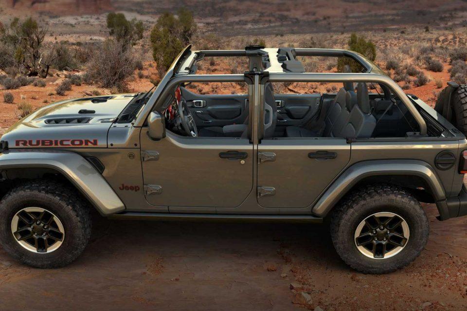 Jeep 針對 Wrangler 推出半門套件