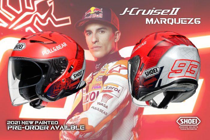 SHOEI 發表「J-Cruise II Marquez 6」