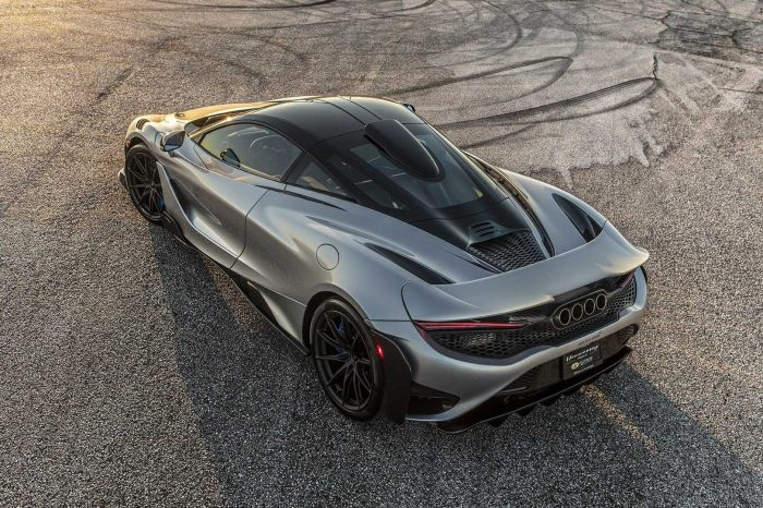 Hennessey 的改裝讓 McLaren 765LT 還能更快