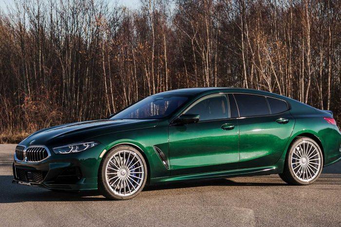 Alpina + BMW 總是如此對味!2022 B8 Gran Coupe 現身