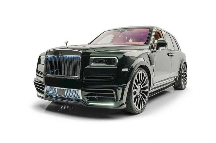 想來點叛逆的 Rolls-Royce Cullinan?找 Mansory 就對了!