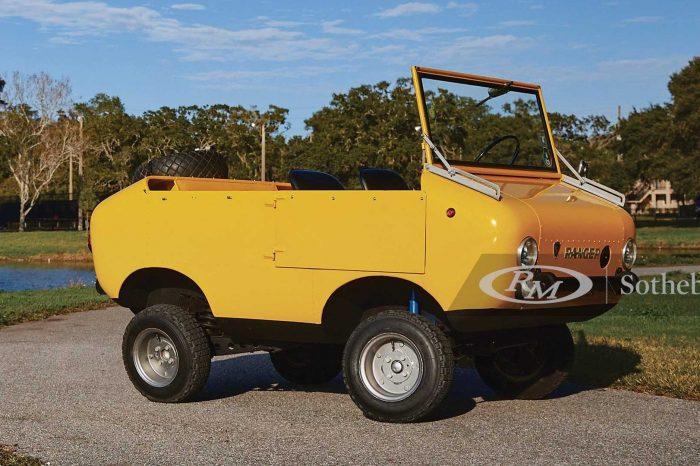 準備拍賣的 Ferves Ranger 可能是最可愛的越野小車了