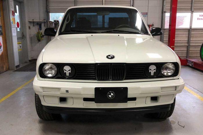 「Toyota Tacoma x BMW E30 融合貨卡」