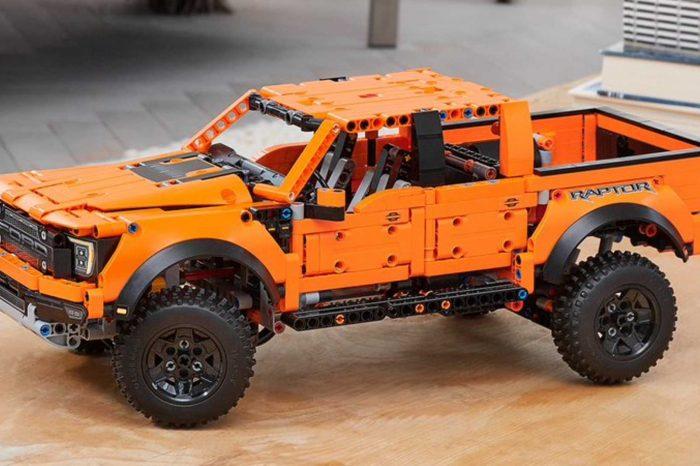 2021 Ford F-150 Raptor Lego Technic 玩具卡車要來征服你家了