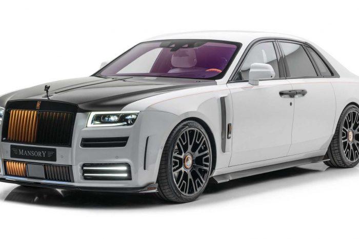 Mansory 替 Rolls-Royce Ghost 準備了不照常規手法的改裝套件