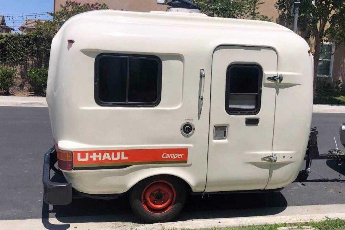 美國搬運公司 U-Haul 以前竟然也有推出過露營拖車