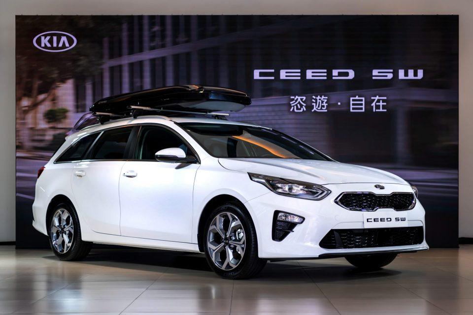 KIA Ceed Sportswagon歐風原裝進口美型跑旅,限量首發上市!